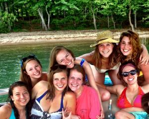 Organized a lake day for allllll my senior friends before we moved all over the place post-grad.