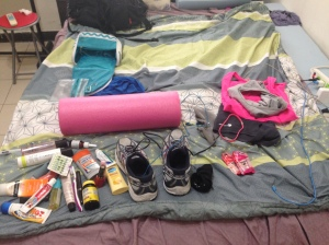Packing for 24 hours in Taipei.