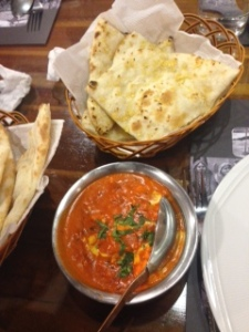 And of course the goodbye dinner was at my favorite Indian restaurant: Ganga. Paneer Butter Masala for days.