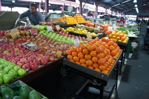 Victoria's Market was gorgeous. I love seeing markets across the world and observing the similarities and differences.