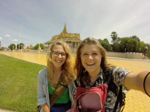 Royal Palace Selfie!