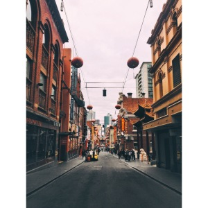 Little snapshot of Chinatown:)
