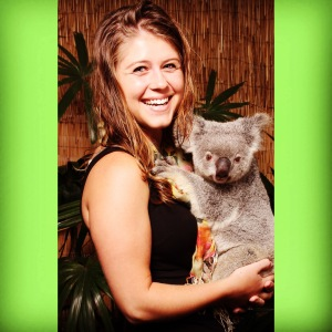 This is Nellie, the Koala I got to cuddle:)